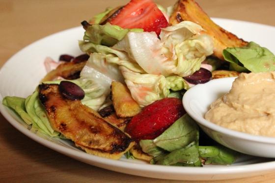fat free plantain salad